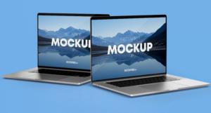 MacBook Laptops Free Mockup
