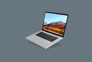 MacBook Pro Free PSD Free Mockup