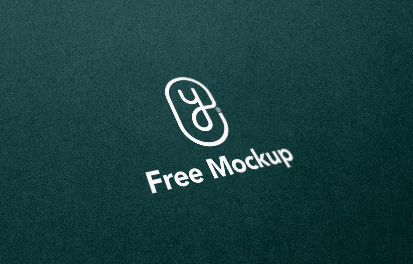 Minimal Logo Set Free Mockup