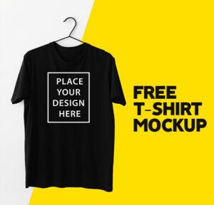Minimal T-Shirt Freebie Mockup