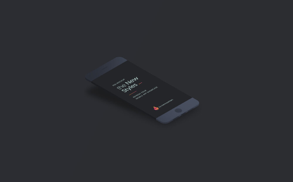 Minimalistic Phone Clay Free Mockup Set