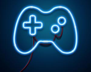 Neon / Glow Logo Free Mockup