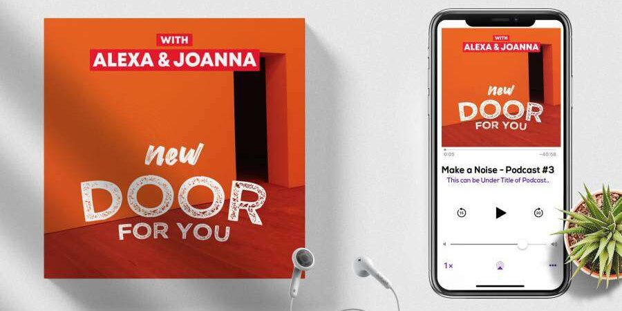 New Door – Free Podcasts Cover Art Template