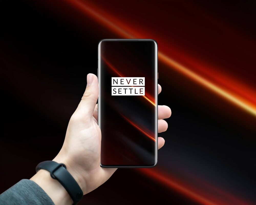 OnePlus 7T Pro 5G McLaren Free Mockup