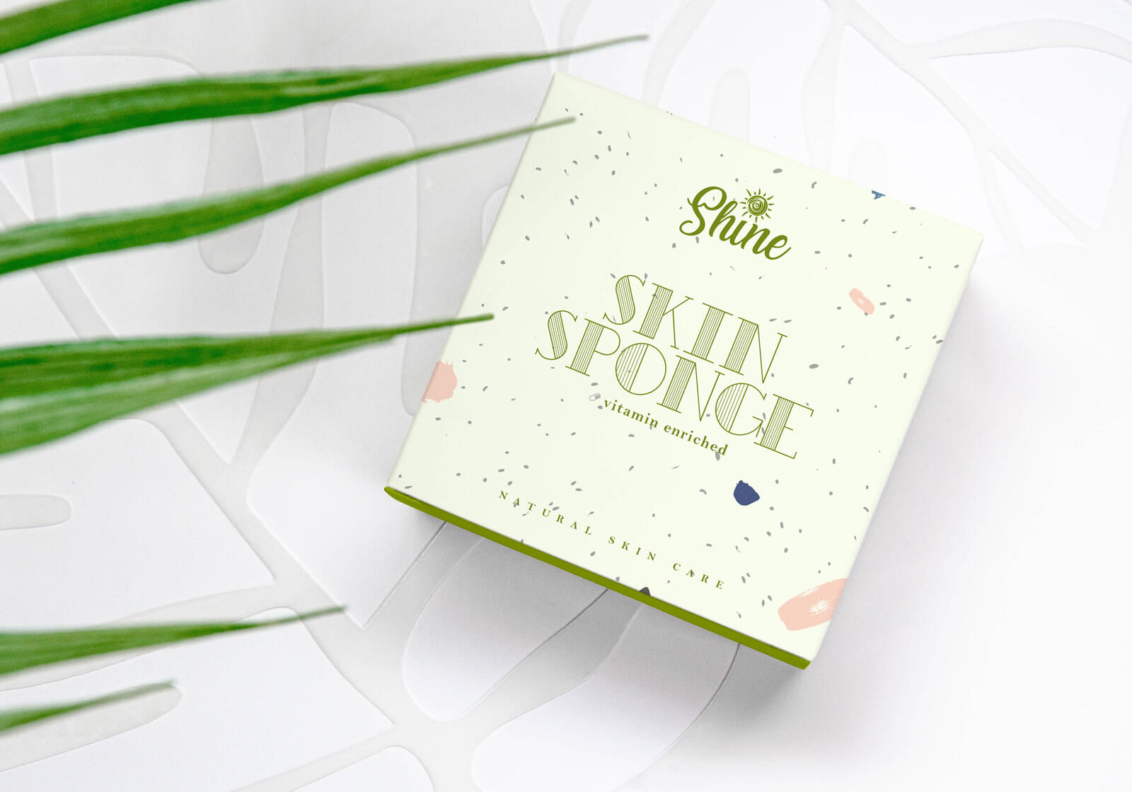 Organic Product Box Packaging Free Mockup