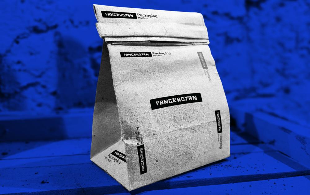 Paper Packaging Free Mockup