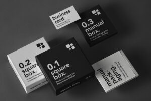 Product Box Packaging Free Mockup