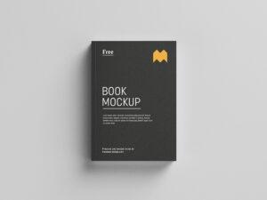 Realistic Book Free Mockup