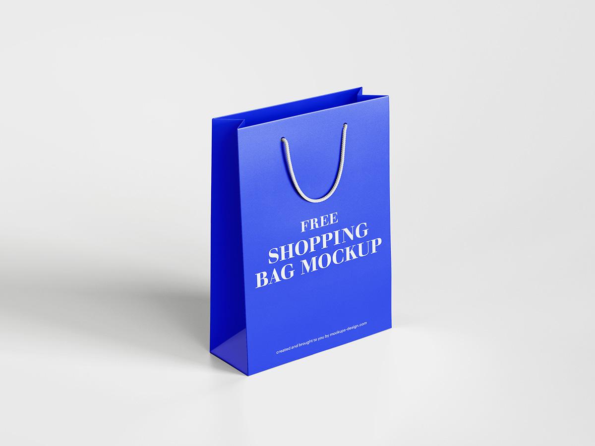 Shopping Bag Freebie Mockup