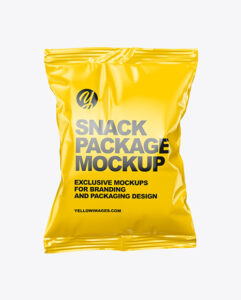 Snack Package Free PSD Mockup