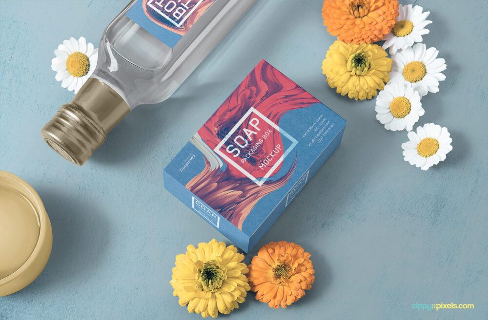 Soap Packaging Free Mockup