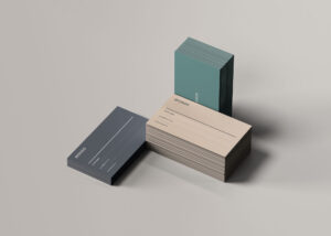 Stacks Business Card Free Mockups