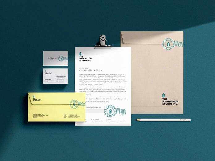 Stationery Branding Free Mockup vol5