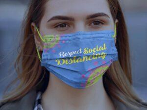 Surgical Face Mask Free Mockup