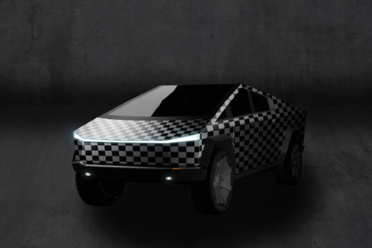 Tesla Cybertruck Freebie Mockups