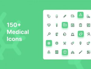 Free 150+ Medical System Icons
