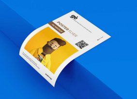 Free A4 Flyer Paper Mockup