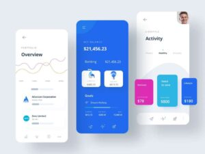 Free Banking App UI Concept