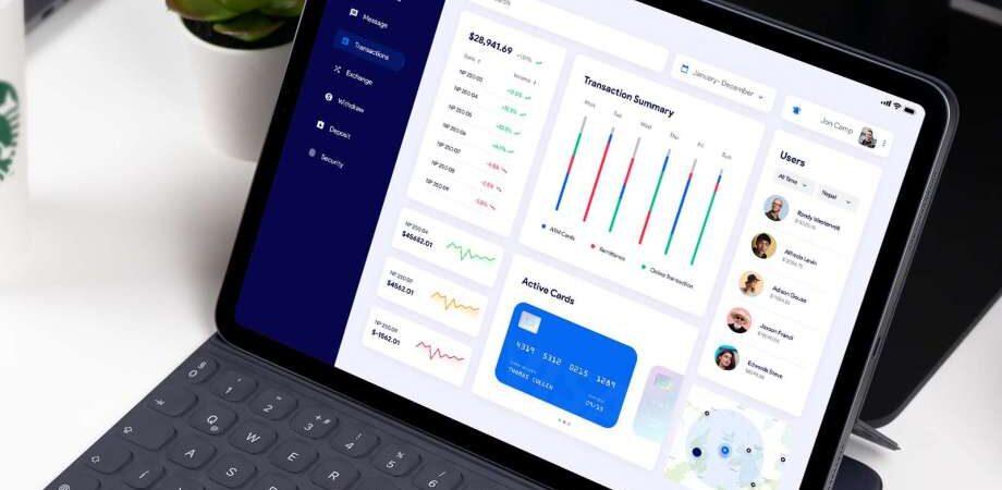Free Banking App UI Dashboard (Figma)