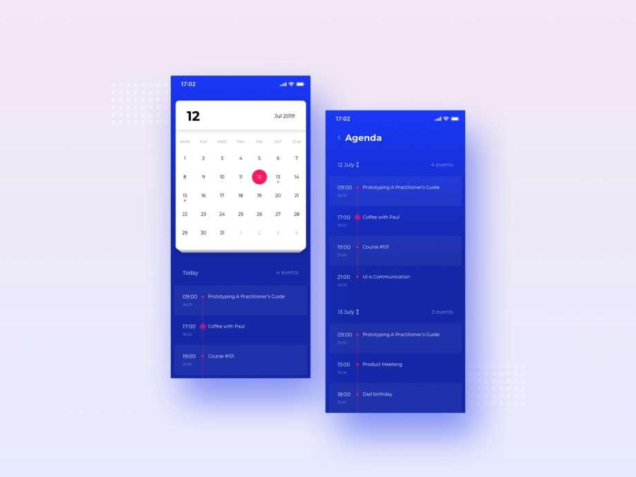 Free Calendar Ui Kit (Figma)