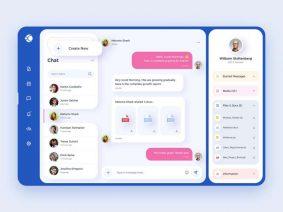 Free Chat Interface Web Application