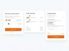 Free Checkout Forms UI Kits