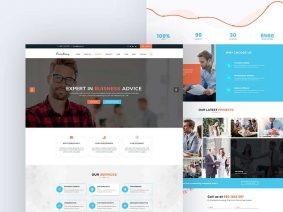 Free Consulting Landing Page