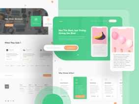 Free Creative Agency Landing Page