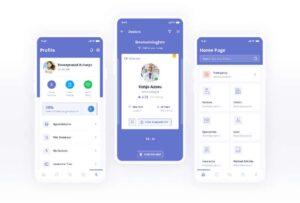 Free Digital Clinic UI Kit