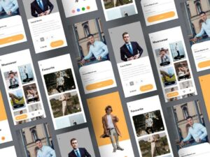 Free Fashion Store Mobile App UI