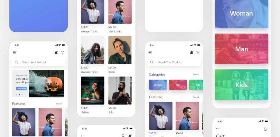 Free Fason e-Commerce UI Kit