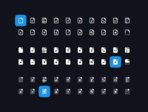 Free File Types Icon Set
