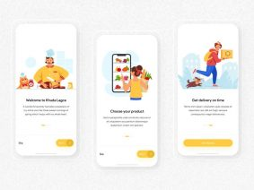 Free Food Delivery Mobile Application UI Concept