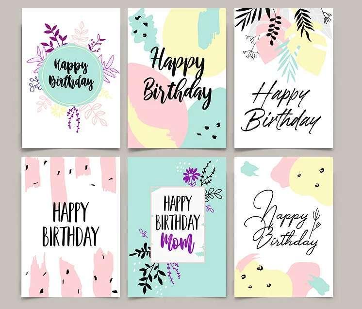 Free Greeting Cards Templates (PSD & AI)
