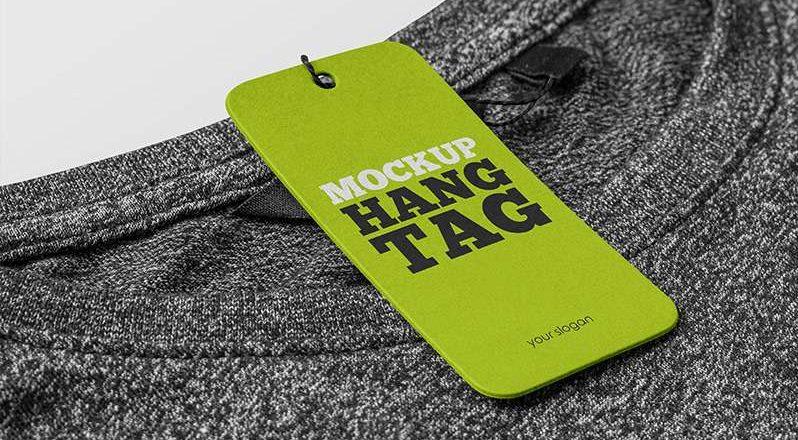 Free Hang Tag Mockup (PSD)