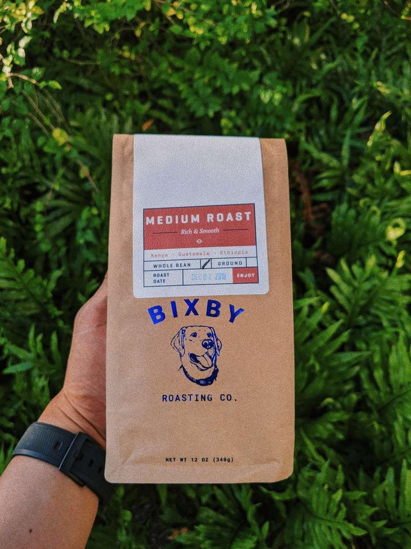 Free Holding Coffee Bag Mockup