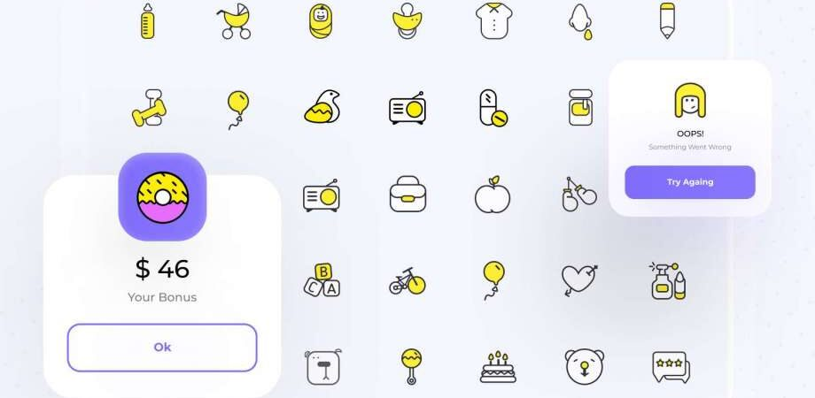 Free Kids Icon set (Fig)