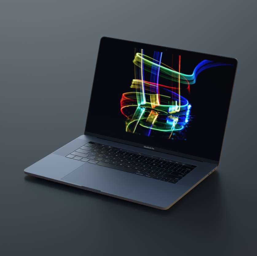 Free Macbook Pro Mockup (PSD & Sketch)