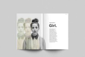 Free Magazine Set Mockup (PSD)