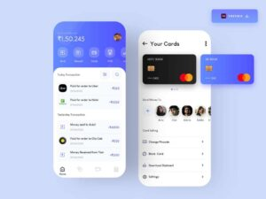 Free Mobile Banking App Concept