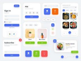 Free Multipurpose UI Kit Concept