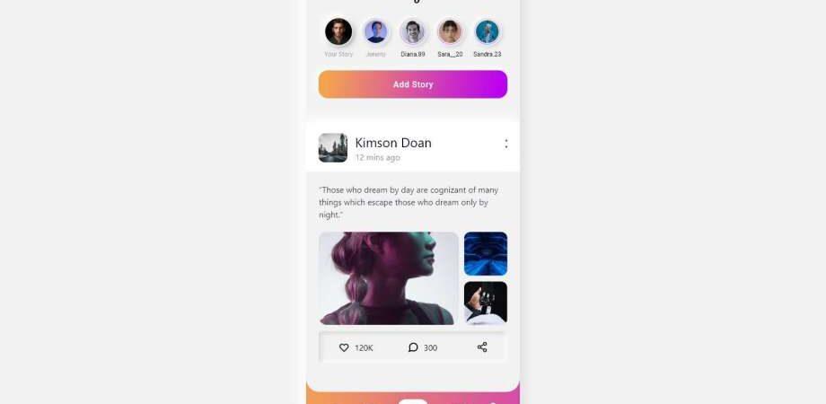Free Neumorphic Instagram Redesign UI Kit