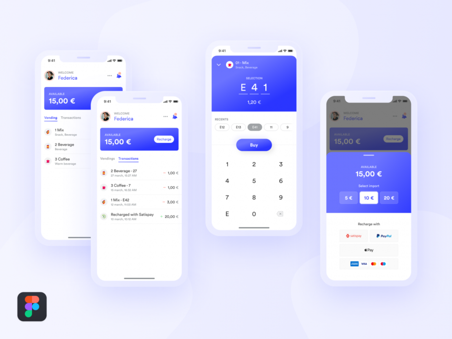 Free Payment App UI Kit