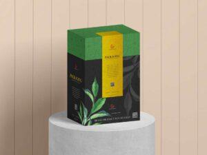 Free Product Packaging Box Mockup