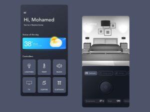 Free Smart Home Automation App UI Kit