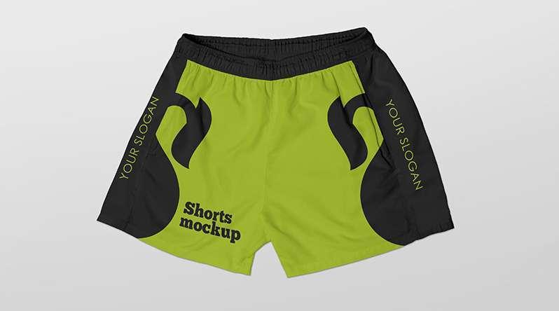 Free Sport Shorts Mockup