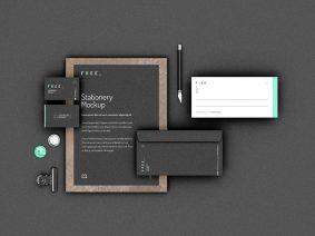 Free Stationery Mockup (PSD)
