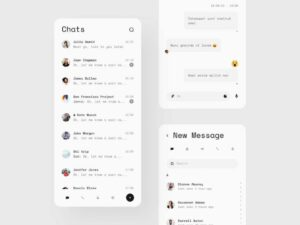 Free Telegram Mobile App Concept (Fig)