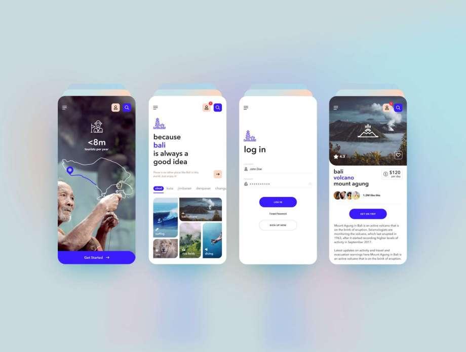 Free Travel App UI Kit (Figma)