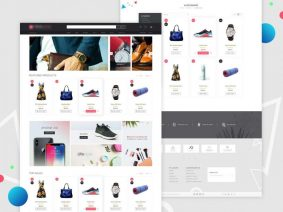 Free e-Commerce Website Template (PSD)